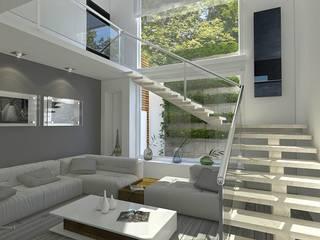 Sala arquitecto9.com Salones modernos