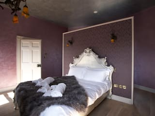 Wall Finishes - the Haute Couture of wall fashion Eclectic style hotels by Carte Blanche Decorative Painters Eclectic