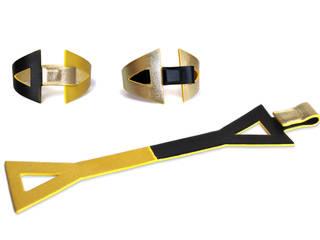 """""""Eva"""" - Bracelet réversible en cuir par CAMILLE ROUSSEL Minimaliste"""