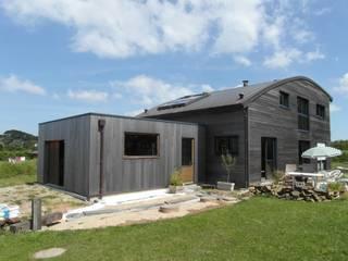 Quelques réalisations de maisons bioclimatiques dessinées ces dernières années GUENNOC Soizic Maisons modernes