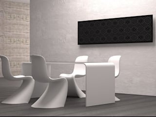 RADIATORI DI DESIGN - YIN MOSAICO:  in stile  di K8 RADIATORI DI DESIGN/ Design Radiators / Designheizkörper/ Radiateur design, Classico