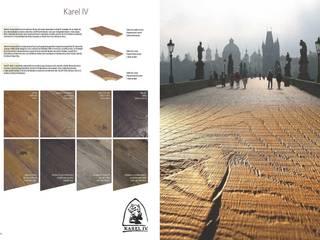Karel IV: Paredes y suelos de estilo  de Esco suelos de madera