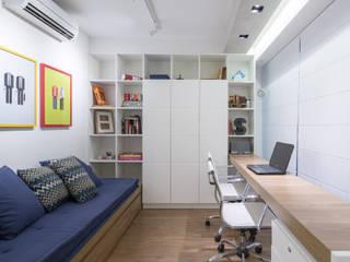 Projekty,  Domowe biuro i gabinet zaprojektowane przez Semerene - Arquitetura Interior