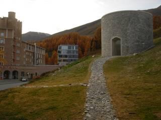 James Turrell, Skyspace Piz Uter - Zuoz Moderne Veranstaltungsorte von OAP Architektur und Projekte Modern