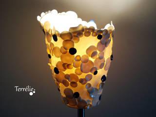Lampes sur pied métal:  de style  par Terrélie