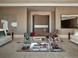 Modern Living Room by Marilia Veiga Interiores Modern