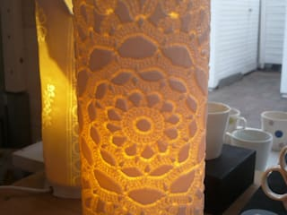Lampe dentelle:  de style  par Terrélie