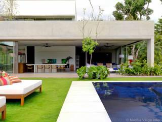 Casa Laranjeiras Casas modernas por Marilia Veiga Interiores Moderno