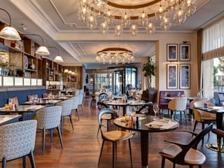 Montreux Jazz Café by Architecture by Aedas Сучасний