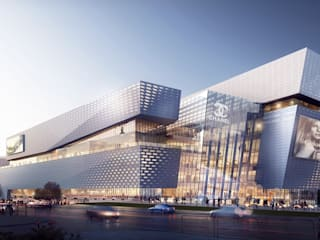 The Heart of Yiwu, An 'Urban Living' Plaza:  Shopping Centres by Aedas
