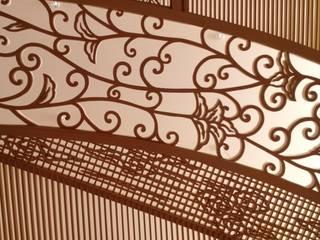 パレスホテル東京 神殿 組木アートワーク: ubushina(t.c.k.w inc.)が手掛けたです。