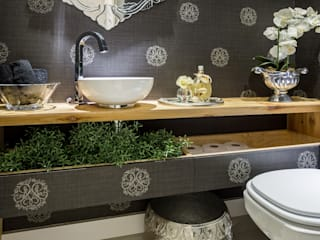 Baños de estilo  por GREISSE PANAZZOLO ARQUITETURA