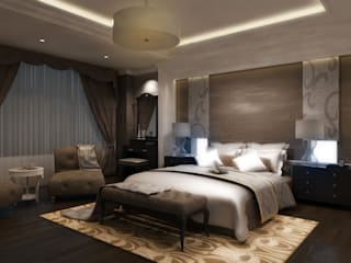 Спальня в стиле модерн от Ayaz Ergin İç Mimarlık Модерн