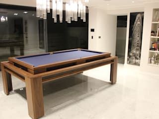 'The Lingfield' Pool/Dining Rollover Table Designer Billiards غرفة السفرةطاولات