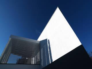 B-House: Case in stile  di Damilano Studio, Moderno