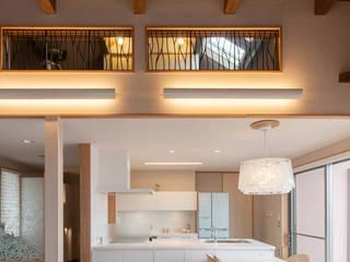 アグラ設計室一級建築士事務所 agra design room Cocinas de estilo moderno