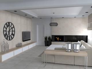 Classic style living room by ap. studio architektoniczne Aurelia Palczewska-Dreszler Classic
