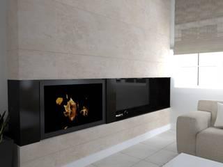 rezydencja koło Iławy: styl , w kategorii Salon zaprojektowany przez ap. studio architektoniczne Aurelia Palczewska-Dreszler