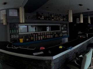 Vue panoramique du rez-de-chaussée (couleurs d'origine).: Restaurants de style  par Anne Gindre Décoratrice d'Intérieur