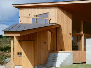 Villa Boomerang Casas de estilo moderno de 森吉直剛アトリエ/MORIYOSHI NAOTAKE ATELIER ARCHITECTS Moderno