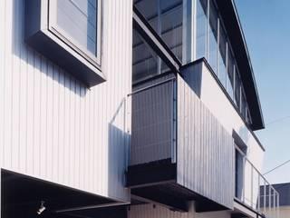 Casas de estilo moderno de 山田高志建築設計事務所 Moderno