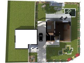 Jardines modernos de ap. studio architektoniczne Aurelia Palczewska Moderno