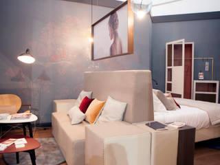 Chambre Essential - Equip Hotel 2014 Hôtels modernes par Emmanuelle Gain Moderne