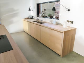 The Chiswick Townhouse Kitchen Minimalist kitchen by NAKED Kitchens Minimalist