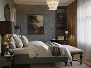 Квартира в классическом стиле Спальня в классическом стиле от COUTURE INTERIORS Классический