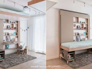 Slaapkamer door DECADRAGES