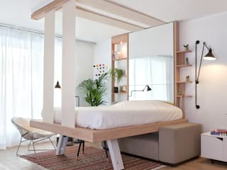 Bed Up Cocoon: Chambre de style de style eclectique par DECADRAGES