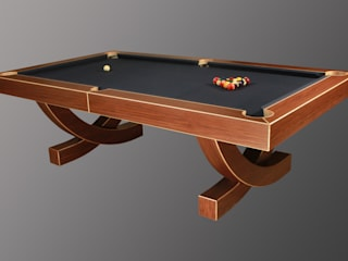 'The Arc', 8 ft American Pool Table Designer Billiards Living roomAccessories & decoration