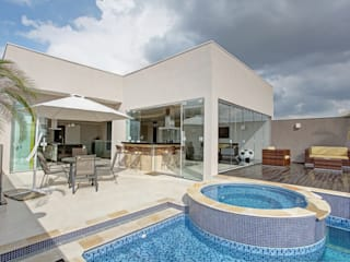 RESIDÊNCIA AV Casas modernas por Le Araujo Arquitetura Moderno
