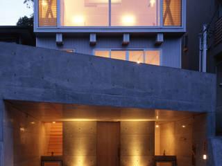K&K-HOUSE 夕方の表情: M4建築設計室が手掛けた家です。