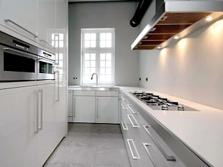 minimalistic Kitchen by Archivice Architektenburo