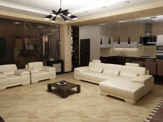 Дизайн квартиры Гостиная в стиле модерн от Efimova Ekaterina Модерн