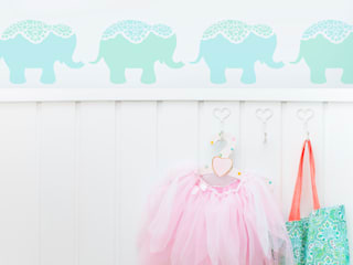 Stencils for Kids Rooms from The Stencil Studio by The Stencil Studio Ltd Scandinavian