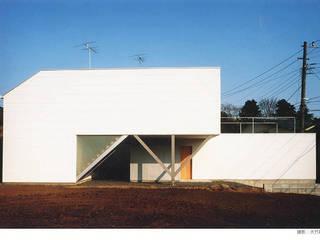white snake ミニマルな 家 の 瀧浩明建築計画事務所/studio blank ミニマル