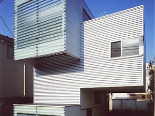 skipped minimum Minimalist house by 瀧浩明建築計画事務所/studio blank Minimalist