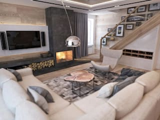 homify Eclectic style living room