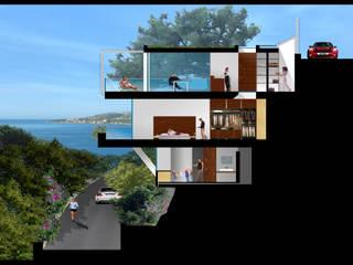 Private villa 330, Sanremo: Case in stile  di Studio 4