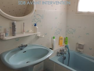 Une salle de bain qui reprend vie.... par L'Autrement Déco Rustique