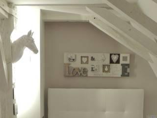 Amménagement des combles d'une maison par L'Autrement Déco Moderne