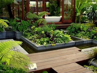 Coaching Paysage Jardines de estilo tropical