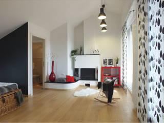 Zona giorno:  in stile  di FOSCA de LUCA Home Stager & Redesigner