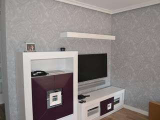 Moderne Wohnzimmer von MIMESIS INTERIORISMO Modern