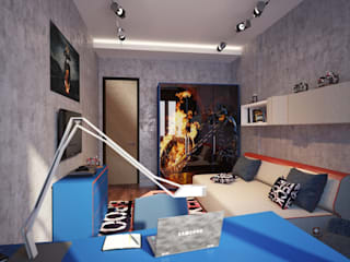 por Design studio of Stanislav Orekhov. ARCHITECTURE / INTERIOR DESIGN / VISUALIZATION. Moderno