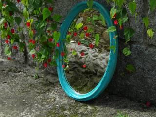Espejo turquesa:  de estilo  de O covil