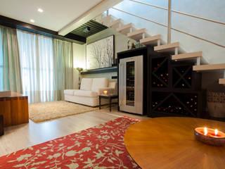 Luine Ardigó Arquitetura의  와인 보관