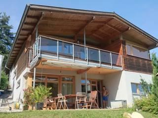 Südansicht Terrasse:  Häuser von AR-GE Schackl